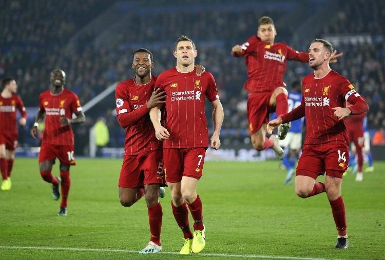 Liverpool Bantai Leicester City 4 0 Kaltim Today